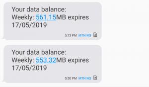 Mtn data balance code