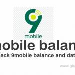 9mobile balance: How to check 9mobile account and data balance