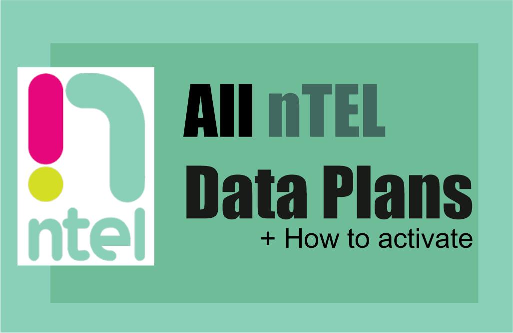 all ntel data plans