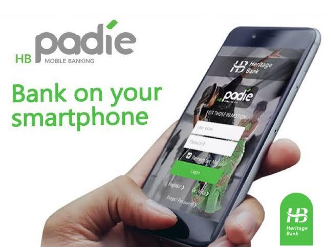 hb padie by heritage bank mobile app
