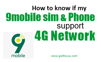 How to know if your Airtel sim and phone support 4G network 10