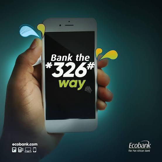 ecobank ussd code