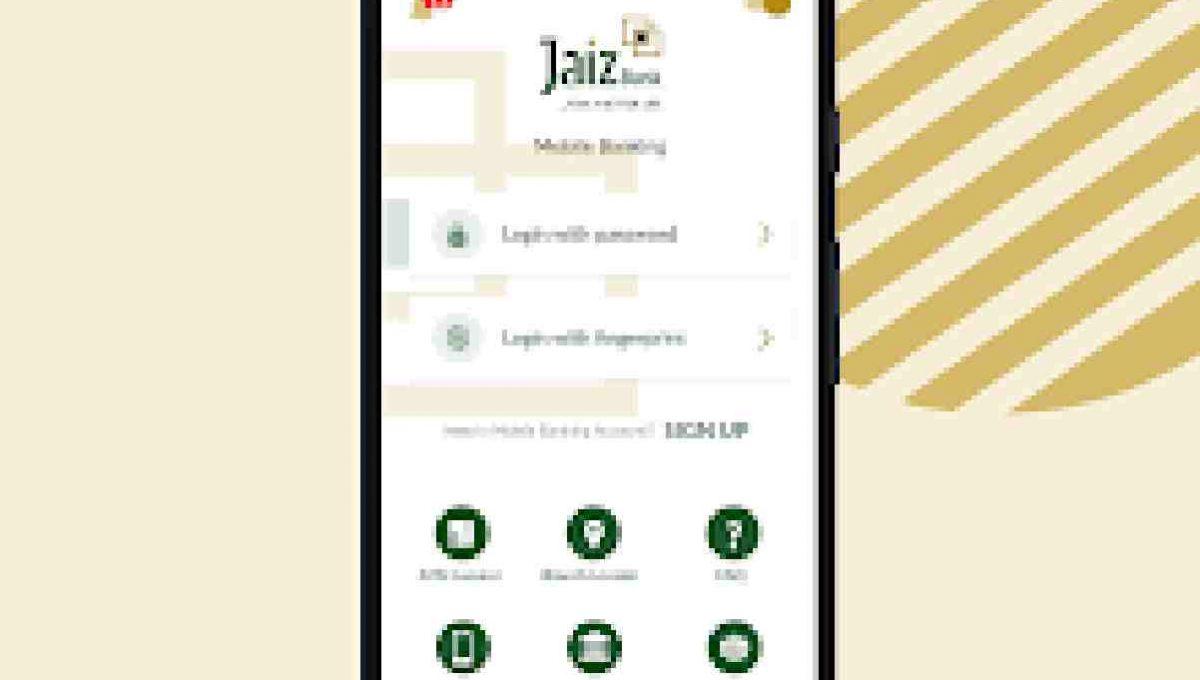 jaiz bank mobile app