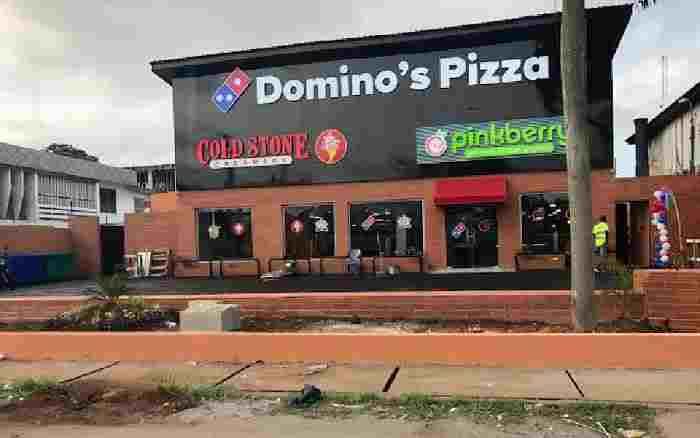 Domino pizza address