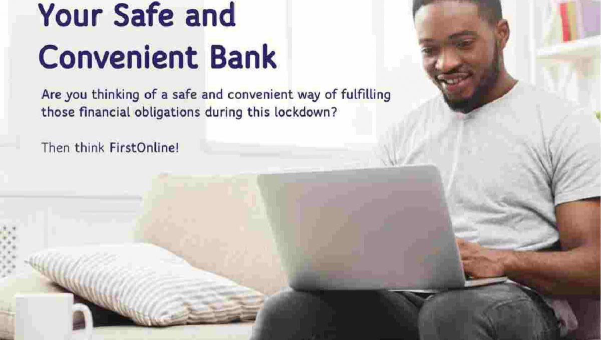 first online internet banking