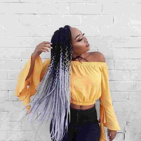 Ombre Braids0A0Abeautiful hairstyles nigeria