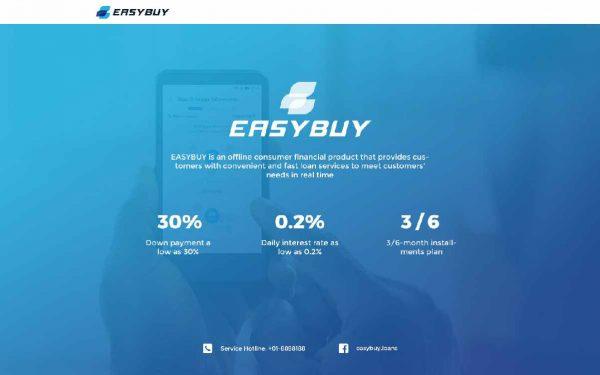 easybuy loan interest rate