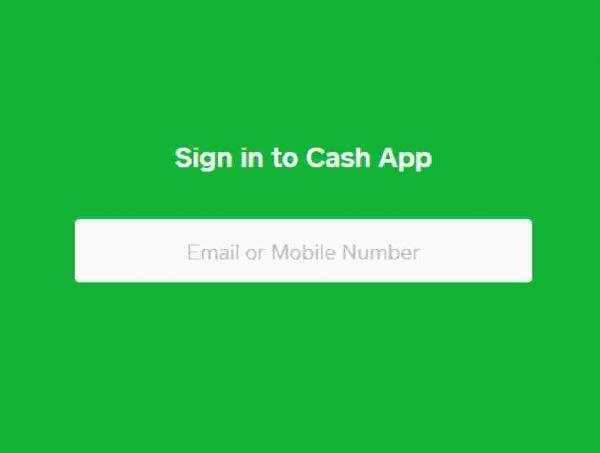 sign up cash app