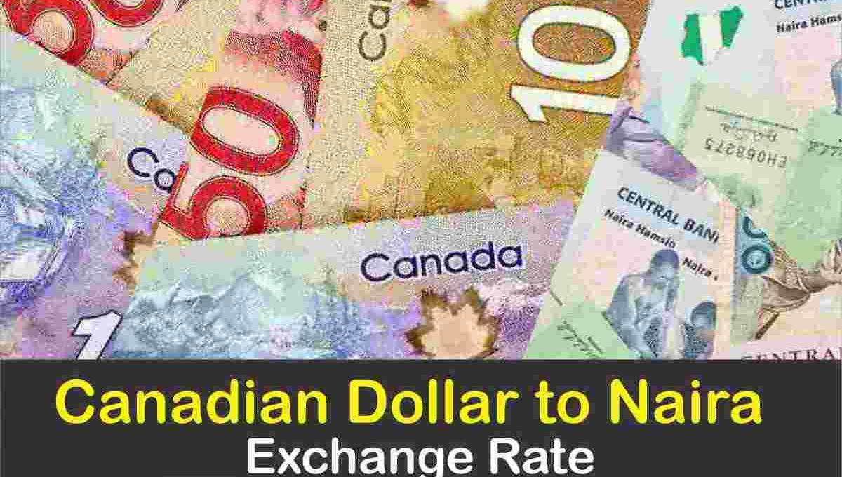 Canadian dollar to Naira Black Market Exchange Rate