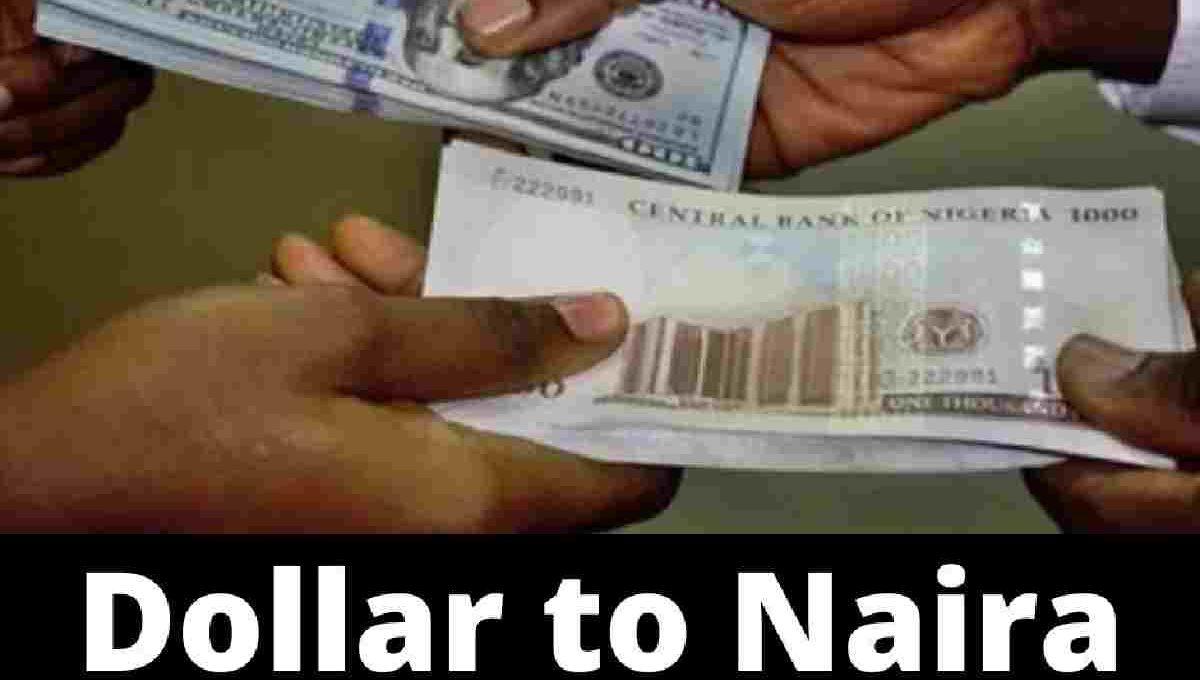 Dollar to naira black market exchange rate