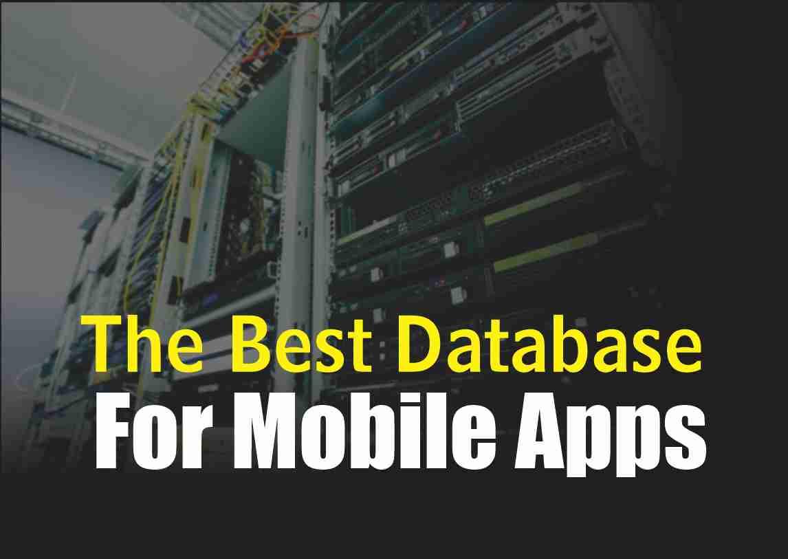 database for mobile app